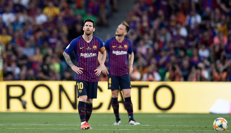El Gol De Messi No Alcanzo Y Barcelona Perdio La Copa Del Rey Ante Valencia